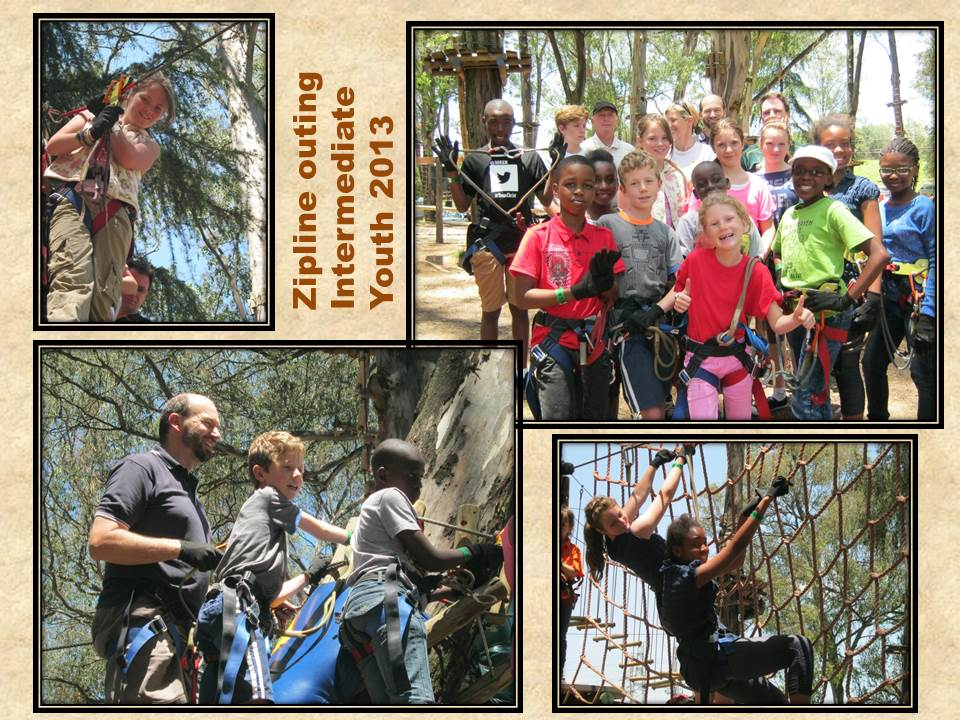 Zipline Youth Outing